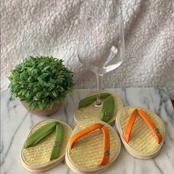 Other - Wine Glass Flip Flops